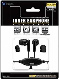 HORI Inner Earphone Portable (Black) Box Art