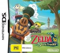 Legend of Zelda, The: Spirit Tracks Box Art