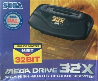 Sega Mega Drive 32X (PAL Asian Specification) Box Art