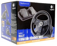 Logitech Rally Vibration Feedback Wheel Box Art