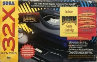 Sega Genesis 32X - Doom [CA] Box Art