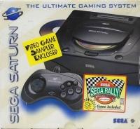 Sega Saturn - Sega Rally Championship (Video Game Sampler Enclosed) Box Art