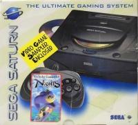 Sega Saturn - NiGHTS into Dreams (Video Game Sampler Enclosed) Box Art