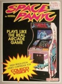 Space Panic Box Art