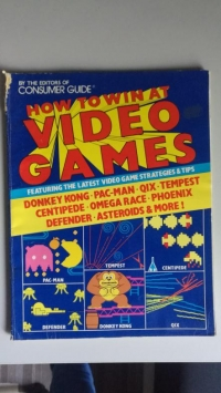 How to win at video games Box Art