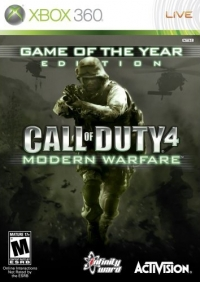 Call of Duty 4: Modern Warfare - Game of the Year Edition Box Art