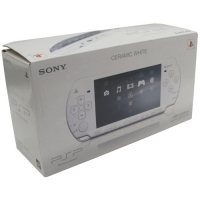 Sony PlayStation Portable Slim - Ceramic White (PSP-2008) Box Art