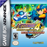 Mega Man Battle Network 4.5: Real Operation Box Art