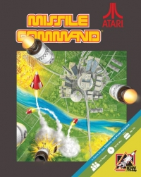 Missile Command Box Art
