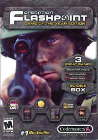 Operation Flashpoint: Game Of The Year Edition Box Art