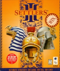 Settlers III, The Box Art