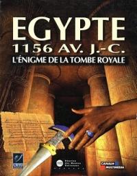 Egypte 1156 av. JC: L'Énigme de la Tombe Royale Box Art