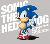 SONIC THE HEDGEHOG 1&2 SOUNDTRACK Box Art