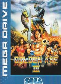 Golden Axe III Box Art