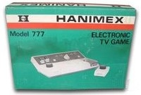 Hanimex Model 777 Electronic TV Game Box Art