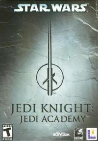 Star Wars: Jedi Knight - Jedi Academy Box Art