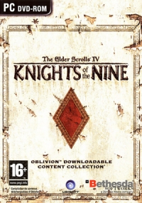 Elder Scrolls IV, The: Knights of the Nine [FR] Box Art