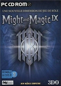 Might and Magic IX [FR] Box Art