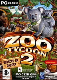Zoo Tycoon 2: Espèces en danger [FR] Box Art