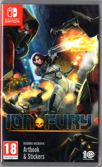 Ion Fury Box Art