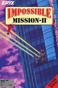 Impossible Mission 2 (Purple Box) Box Art