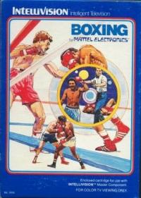 Boxing (blue label) Box Art