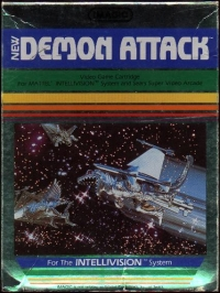 Demon Attack (picture label) Box Art