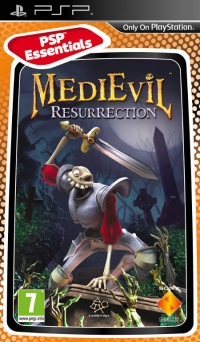 MediEvil Resurrection - PSP Essentials Box Art