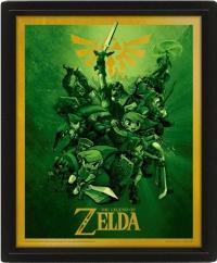 3D Pyramid: Nintendo - The Legend Of Zelda (Link) Box Art