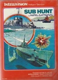 Sub Hunt (red label) Box Art