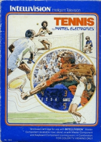Tennis Box Art
