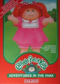 Cabbage Patch Kids: Adventures in the Park Box Art