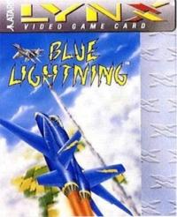 Blue Lightning (flat cartridge) Box Art