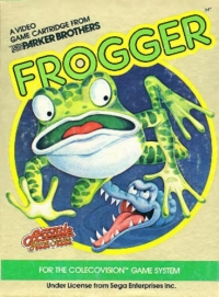 Frogger Box Art