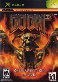 Doom 3: Resurrection of Evil Box Art