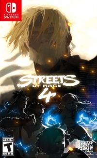 Streets of Rage 4 (Limited Run) Box Art