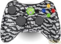 Controller Chaos Xbox 360 Wireless Controller - White Tiger Camo Box Art