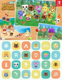 Animal Crossing: New Horizons - double-sided poster Box Art