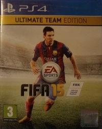 FIFA 15 - Ultimate Team Edition Box Art