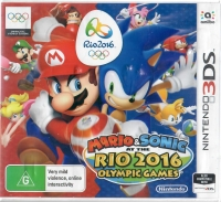 Mario & Sonic at the Rio 2016 Olympic Games Box Art
