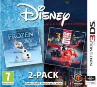 Disney Two Pack - Frozen: Olaf's Quest & Big Hero 6: Battle In The Bay Box Art
