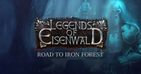 Legends of Eisenwald: Road to Iron Forest Box Art