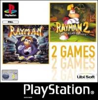 2 Games : Rayman & Rayman 2. Box Art