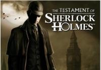 Testament of Sherlock Holmes, The Box Art