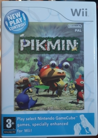 Pikmin - New Play Control! [SE][DK] Box Art