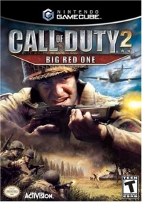 Call of Duty 2: Big Red One Box Art