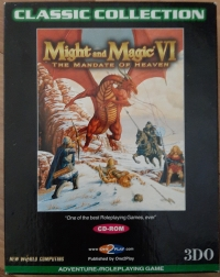 Might and Magic VI: The Mandate of Heaven - Classic Collection Box Art