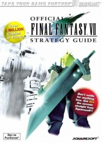 Official Final Fantasy VII Strategy Guide (Over 1 Million Copies in Print!) Box Art