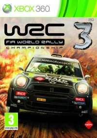 WRC 3: FIA World Rally Championship Box Art
