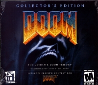 Doom - Collector's Edition (Includes Doom 3 Preview Content) Box Art